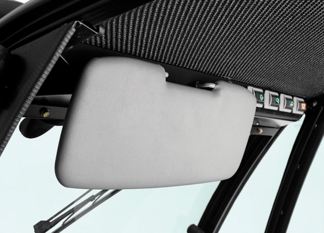 Visor – Deluxe Cabs, Roofs & Windshields
