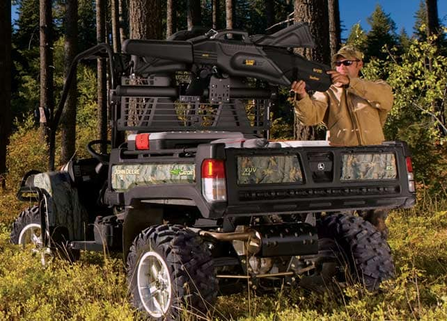 OPS Gun Mount – Black Cargo Box Options & Storage