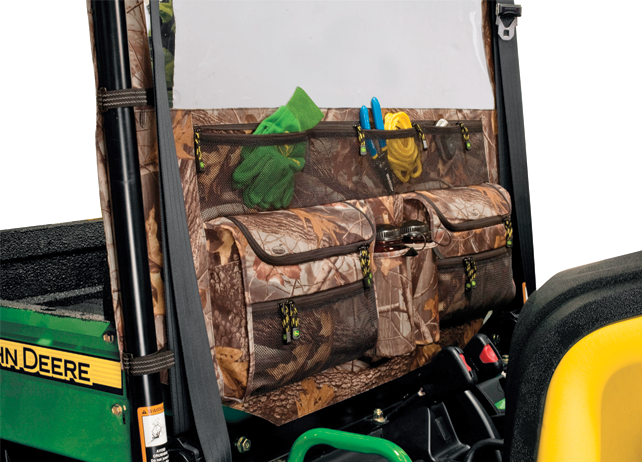 Rear Screen and Organizer-Camo Cargo Box Options & Storage