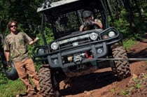 Warn® Winch; XUV and HPX Carts, Hitches & Winches