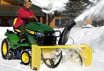 44-in. (112-cm) Snow Blower for X300 Series Tractors