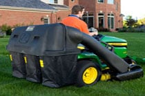 3-bag Power Flow Collection System Yard & Lawn Care Attachment