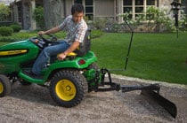42-inch Rear Blade Gardening & Ground Engagement
