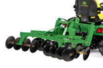 Cat 1 3-Point Hitch Harrow Disk Gardening & Ground Engagement