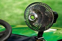 12-Volt Oscillating Fan Operator Comfort & Convenience
