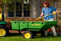 17P Poly Cart Yard & Lawn Care