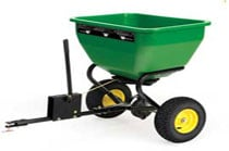 Tow-Behind Broadcast Spreader Yard & Lawn Care