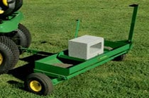 40-inch Aerator-Spreader Yard & Lawn Care