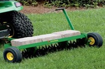 40-inch Spiker Aerator Yard & Lawn Care