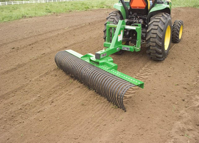 Landscape Root Rake : Point hitch rock rakes submited images