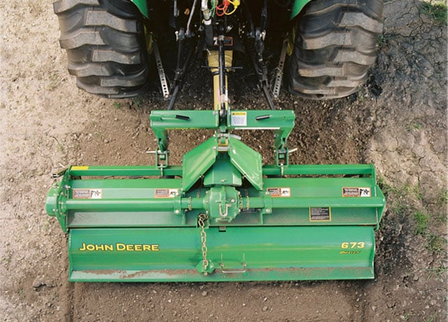 673 Tiller (73-Inch, Commercial-Duty) Tillage Attachment
