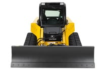 Image of Dozer Blade Attachment on Skid Steer