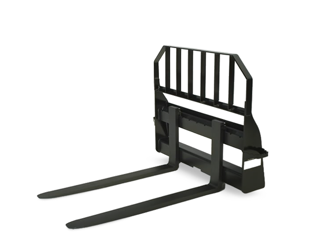 Rail Style Pallet Fork Attachment