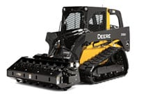 Vibratory Roller on Skid Steer