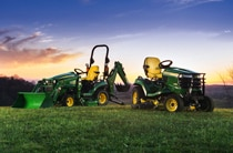 Follow link to compare X700 Signature Series Tractor and 1 Family Sub-Compact Utility Tractor