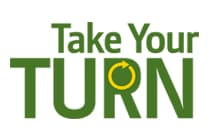 Take Your Turn promotion logo