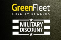 Follow link to learn more about GreenFleet Rewards for Military Service Members