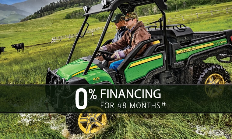 View special offers for Gator™ Utility Vehicles.