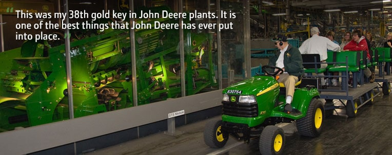 Harvester Works Gold Key Tour