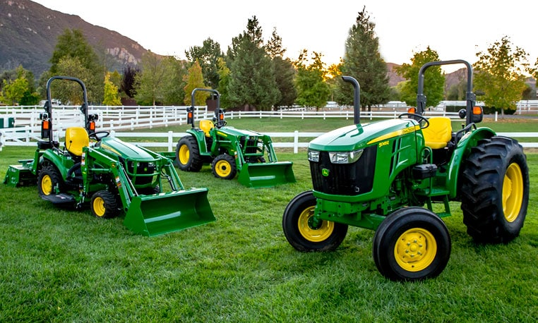 Explore the line-up of hard-working tractors