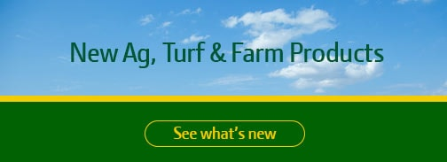 image for New Products for Ag & Turf, follow the link for what's new in 2016