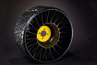 Studio photo of the Michelin X TWEEL Turf