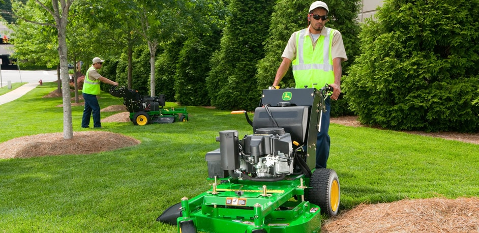 The new Commercial Walk-Behind Mowers