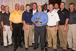 Top dealers are honored at annual awards banquet.