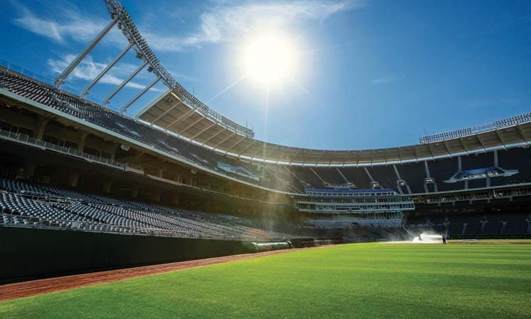 View the Kauffman Stadium story