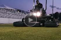 View Maryland SoccerPlex precision cut video.