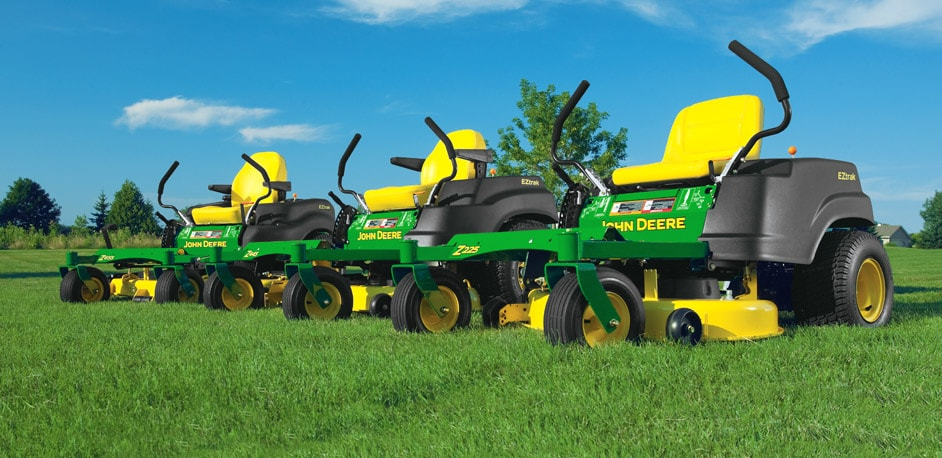 New range of Zero Turn Mowers