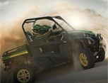 Brochure cover for 2015 High-Performance Utility Vehicles