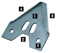 Knife Sections