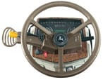Parts and Service: Leather steering wheel