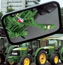 Parts and Service: Hitch view mirror