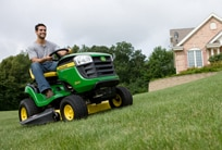 Explore batteries for lawn and turf care