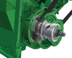 High-Torque, Variable-Speed Feederhouse Drive