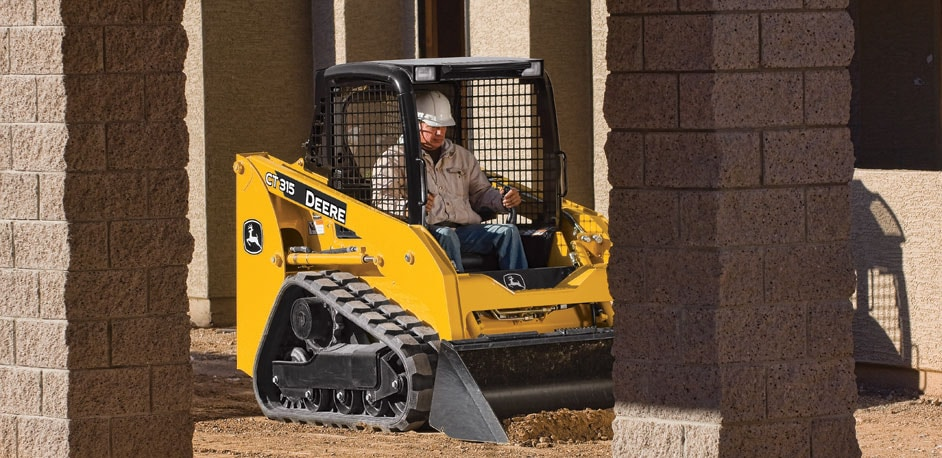 Compact Track Loaders from John Deere