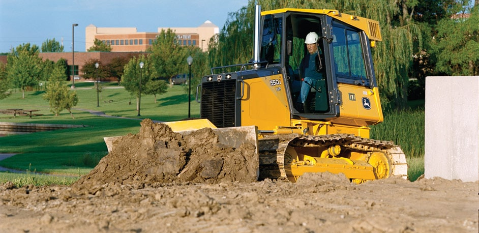 Crawler Dozers from John Deere