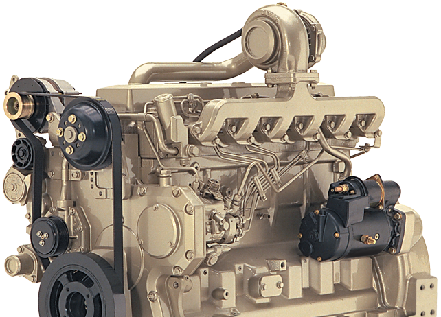 6.8L Gen-Set Diesel Engine 123 kW (165 hp)