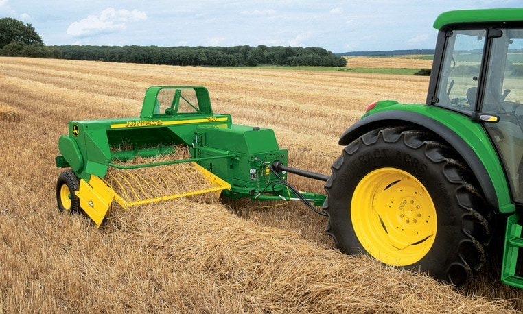 Small Square Balers from John Deere