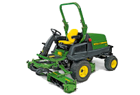 Heavy duty triple mower 8400