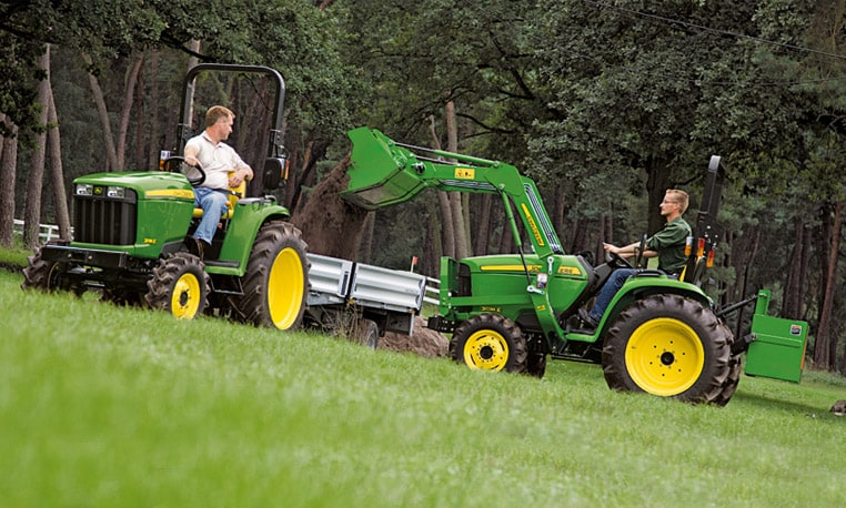 Tough Tractors for Tough Jobs