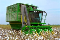 9970 Cotton Picker: An unsurpassed combination of proven performance and productive refinements.
