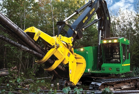 753J Tracked Feller Buncher