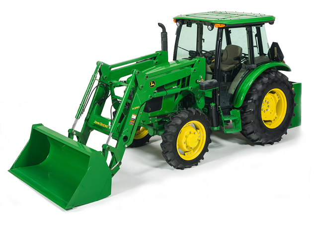 H240 Utility Tractor Loader shown on Tractor