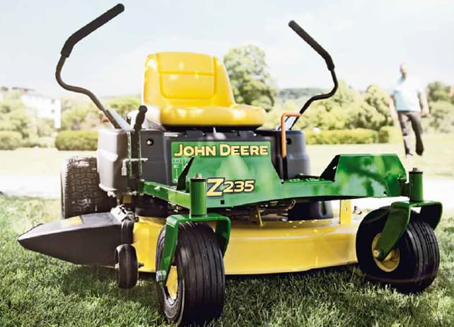 Z235 Riding Lawn Equipment John Deere Int