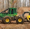 548G-III Grapple Skidder works in the forest