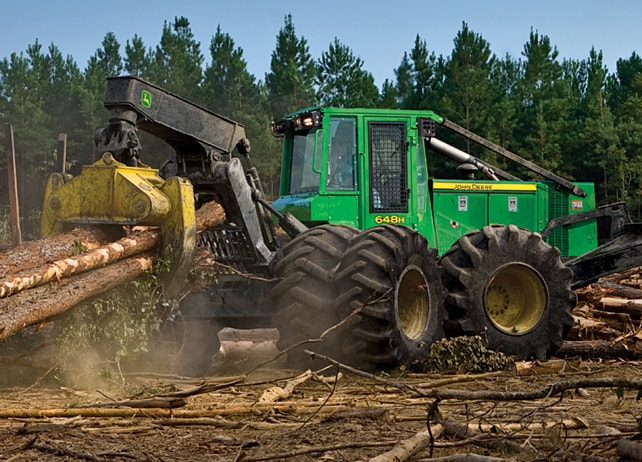 648H Grapple Skidder