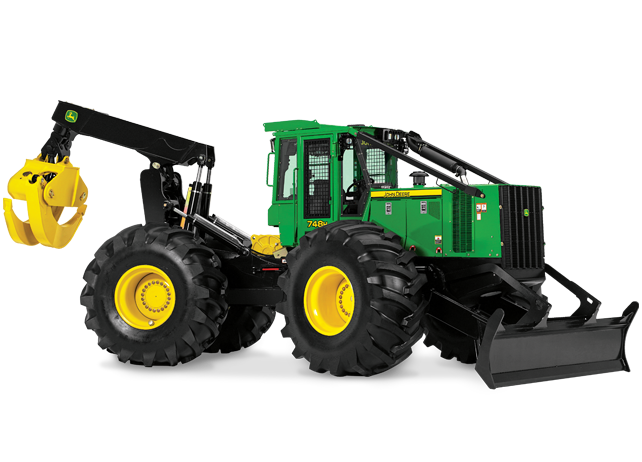 748H Grapple Skidder